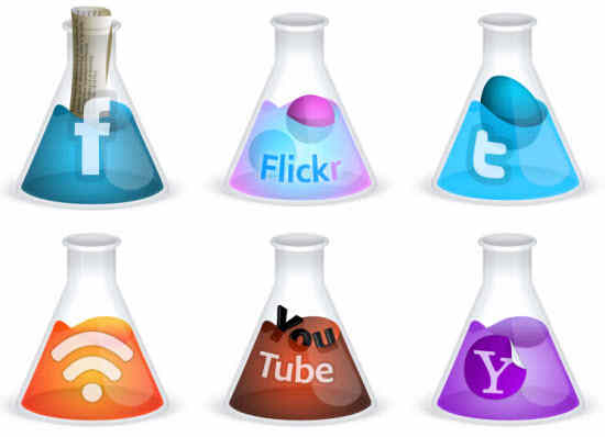 Free Scientific Creative Social Media Icons