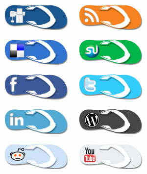 social media icons – Journey to a Better Life