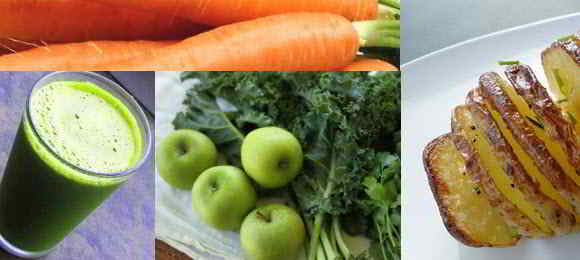 Gerson Therapy Diet (notes)