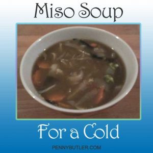 Miso Soup for a Cold