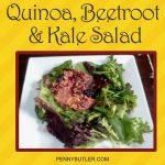 Quinoa Beetroot Kale Salad