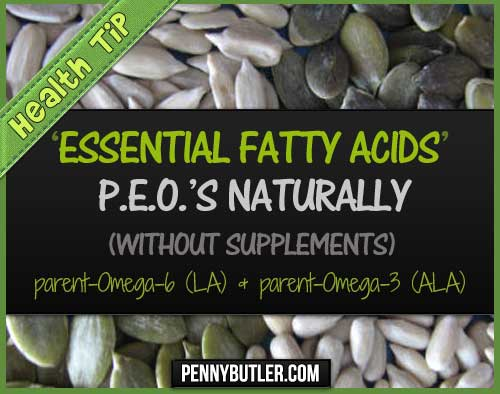 PEO Essential Fatty Acids