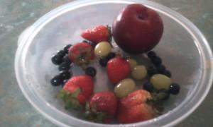 Berries Grapes Plum