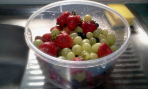 Fresh Fruit Berries Grapes