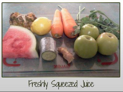 Freshly Squeezed Juice