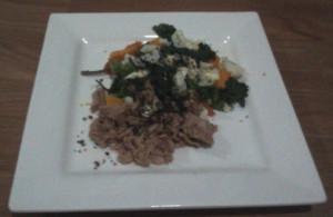 Tuna Kale Veggies