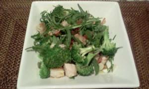 Chicken Broccoli Rocket Salad