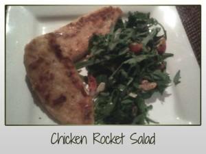 Chicken Rocket Salad