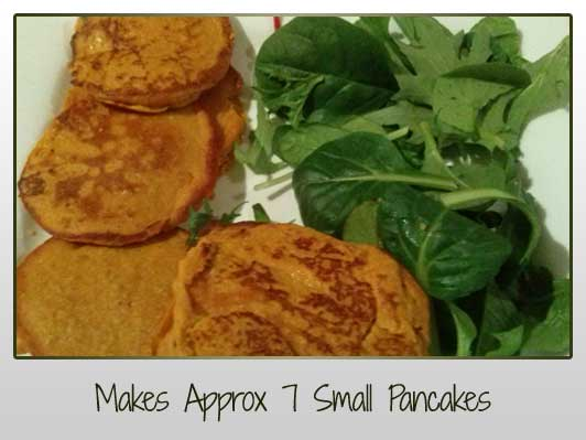 Makes Approx 7 Small Pancakes