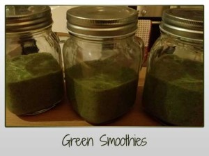 Green Smoothies x3