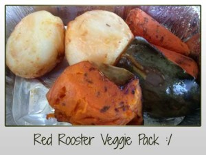 Red Rooster Veggie Pack