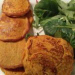 Sweet Potato Pancakes (no flour)