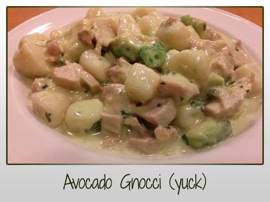 Avocado Gnocci