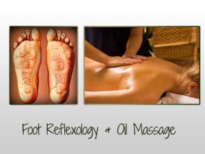 Foot Reflexology & Oil Massage