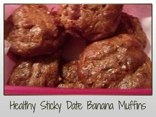Healthy Sticky Date