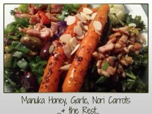 manukahoney-garlic-carrots