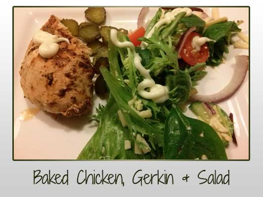 baked-chicken-gerkin-salad