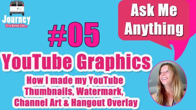 YouTube Graphics - How I make my Thumbnails, etc.