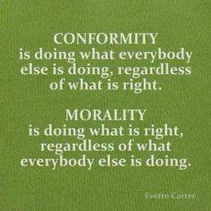 conformity – Journey to a Better Life