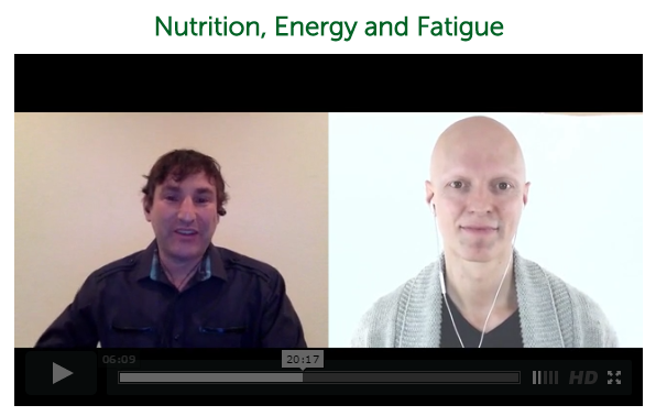 Nutrition, Energy and Fatigue ~ Yuri Elkaim