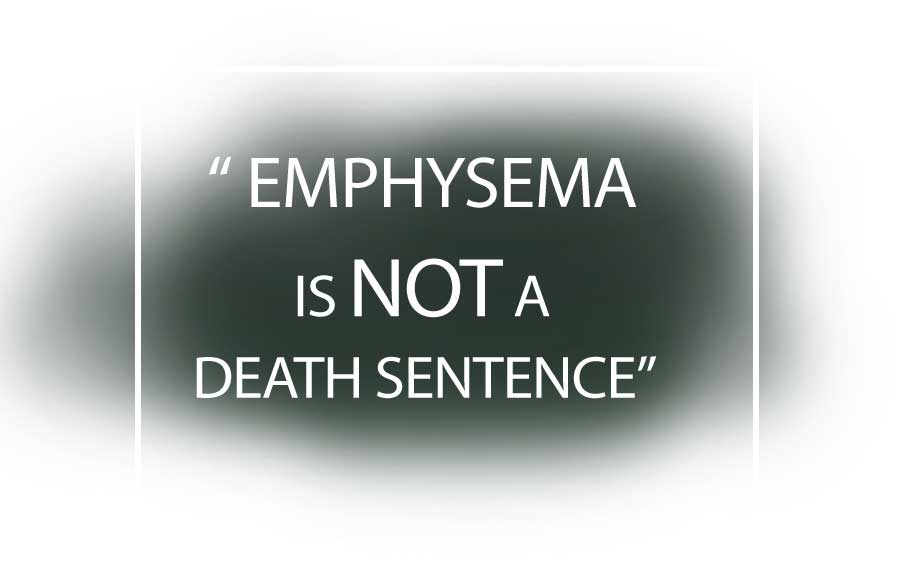 Emphysema - the beginning