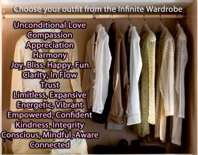 Vibratory Layers - Choose your Outfit from the Infinite Wardrobe