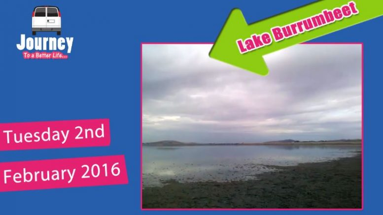 Tour – Lake Burrumbeet – dead fish everywhere… (for Van Dwelling group)