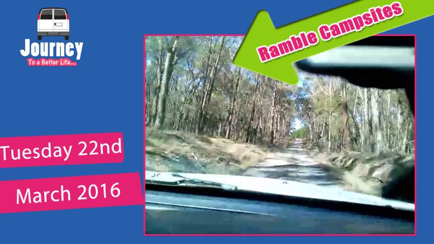 Ramble while changing campsites Mt Franklin to Creswick Park