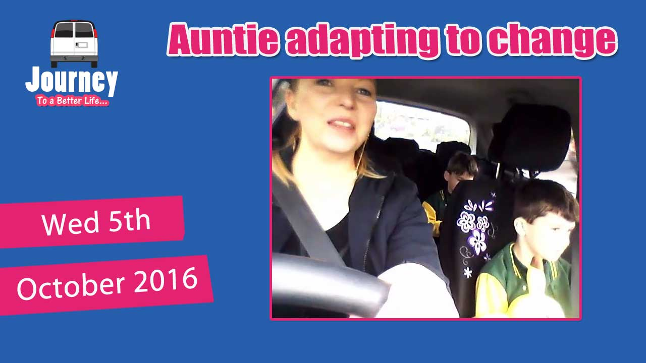 Auntie & nephews adapting to change