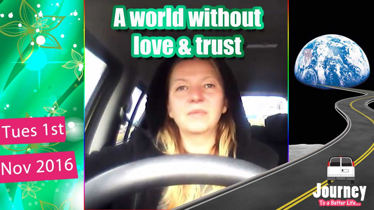 Can't Trust and it Bugs me – Don't want to live in hateful world