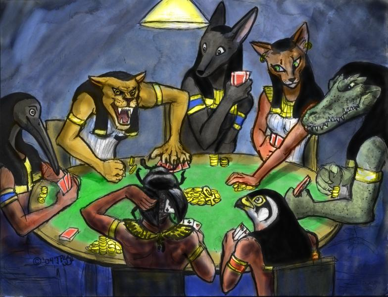 [Ra] The Poker Game (Why do we lose our memory incarnating)