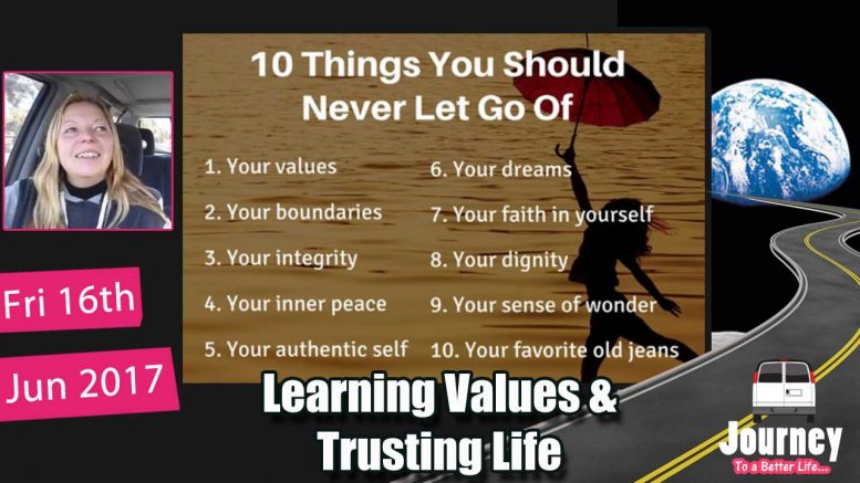 Learning values & Trusting life + moving back to hometown