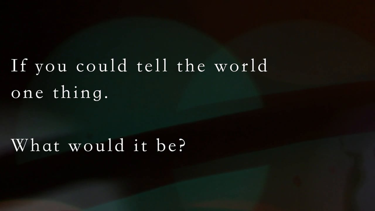 [QA] What would you want to tell the world? – Journey to a Better Life