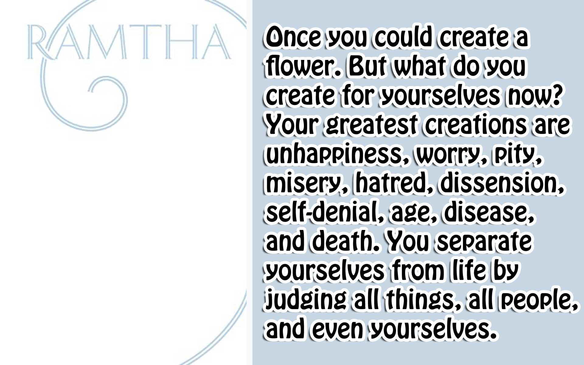 [Ramtha] The White Book 2 Who are you?