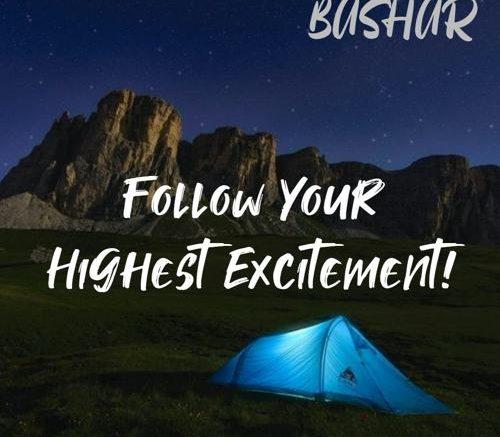 [Bashar] Follow your Highest Excitement