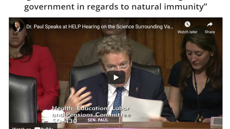 Natural Immunity vs Vaccine