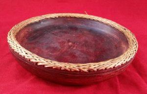 Shallow Wooden Bowl (Ex-Shop Stock)