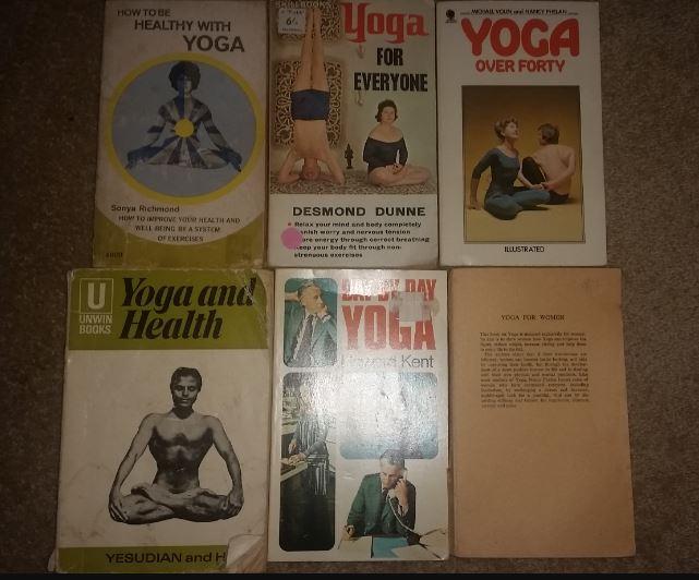 Vintage Yoga Book Bundle