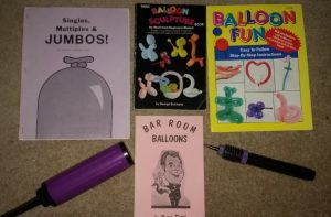 Balloon Magic Books & Balloon Pumps