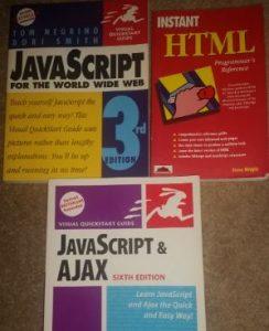 Javascript, HTML, and Ajax Books (Bundle)