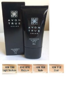 Avon True Color Skin Goodness CC Cream SPF25 (Shell) 25g New